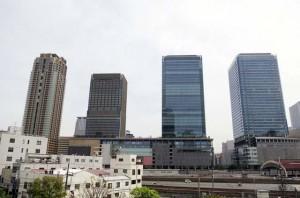 グランフロント大阪全景