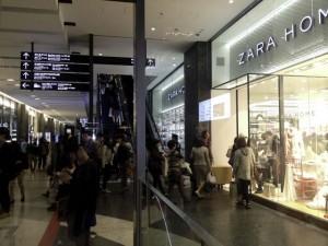 グランフロント北館1階のZARA HOME