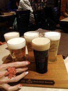 世界のビール5種