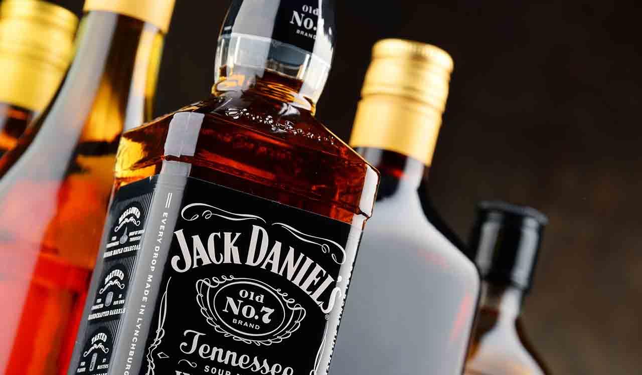 ジャックダニエルのボトル