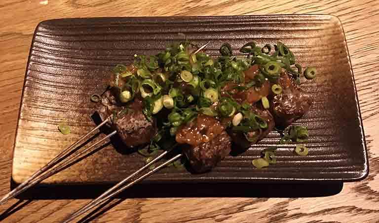 コンニャク肉味噌焼きの写真