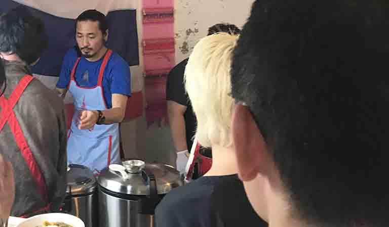asian kitchen cafe 百福&旅人シェフのタイ食堂KHAOのお店