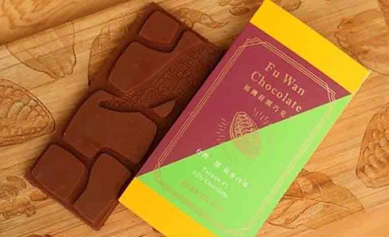 フーワンチョコレートの定番の62%カカオ